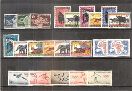 Ruanda-Urundi 202/223 - 4 Séries Complètes - XX/MNH - Ruanda-Urundi