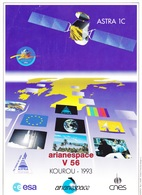 France Arianespace V 56 Affiche Neuve - Technical