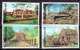 Thailand 1997- Thai Heritage Conservation - Parks - Michel 1760-63 Somchai 1703-06  MNH, Neuf, Postfrisch - Thailand