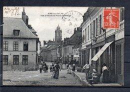62 - Aire Sur La Lys - Vue Prise De La Place Du Rivage - Aire Sur La Lys