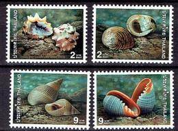 Thailand 1997- Sea Shells, Joint Issue Thailand-Singapore - Michel 1813-16 Somchai 1744-47  MNH, Neuf, Postfrisch - Thailand