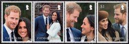 Cayman Islands - 2018 - Royal Wedding - Duke And Duchess Of Sussex - Mint Stamp Set - Cayman Islands