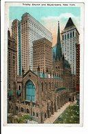 CPA - Carte Postale-Etats Unis -New York -Trinity Church -Skyscrapers -VM3107 - New York City