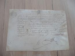 Pièce Signée Velin Autographe Firmarcon Régiment De Dragons Reçu 20/02/1676 - Documents
