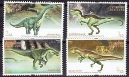 Thailand 1997- Dinosauris - Michel 1804-07 Somchai 1735-38  MNH, Neuf, Postfrisch - Thailand