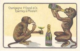 TB Champagne P. Cossé & Co , Epernay & Pfastatt - Publicité