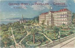 LD Grand Hôtel Du Pavillon, Cannes – P. Borgo, Propr. - Publicité