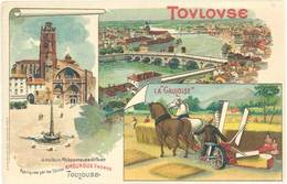 TB Amouroux Frères, Toulouse – La Gauloise , Foins - Publicité