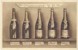 TB Champagne V.P. Pommery Et Greno, Reims - Publicité