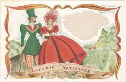 TB Loterie Nationale , Signée Bret Koch (indication Barométrique) - Publicité
