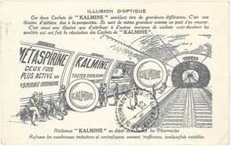 LD Cachet De « Kalmine «, Illusion D'optique ( Ligne De Métro ) - Publicité