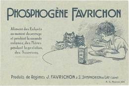 TB Phosphogène Favrichon à Saint-Symphorien De Lay (Loire) - Publicité
