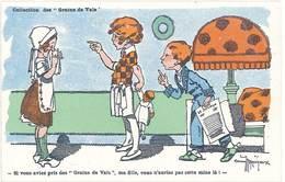 TB Grains De Vals, Signée Gaston Maréchaux, Laboratoires Noguès - Publicité