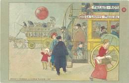 TB Aux Grands Magasins Du Louvre, Omnibus - Publicité