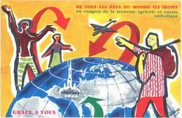 TB Congrès De La Jeunesse Agricole Et Rurale Catholique, Lourdes 1960 - Publicité