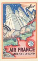 TB Air France, Amérique Du Nord, New-York - Publicité