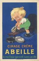 TB Cirage Crème Abeille, Signée Auzolle (?) - Publicité