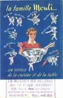 TB La Famille Mouli … ( La Maison Du Ménage, Nancy ) - Publicité