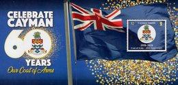 Cayman Islands - 2018 - Cayman Islands Coat Of Arms - 60th Anniversary - Mint Souvenir Sheet - Cayman Islands