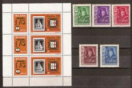 (Fb).Ungheria.1935/76.Lotto.Serie 5 Val. Nuovi + 3 Val.in Foglietto (204-18) - Collezioni