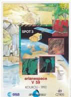 France Arianespace V 59 Affiche Neuve - Autres