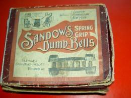 Sandow's Dumb Bells  Grip Dump-Bell Co London Fin XIXe  For Girl (!) Culture Physique - Unclassified