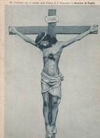 Cartolina  - Postcard / Viaggiata -  Sent -Gravina Di Puglia, Crocifisso Chiesa Di S.Francesco ( Gran Formato ) Anni 40° - Jésus