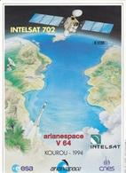 France Arianespace V 64 Affiche Neuve - Autres