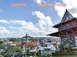 Cayenne Guyane Francaise 4 - Ansichtskarten