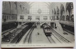 CPA 75 Paris Intérieur De La Nouvelle Gare D'Orléans Train - Stations With Trains