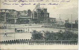 Dieppe,Le Tennis Et Le Casino 1917 - Dieppe