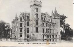 LES TROIS MOUTIERS ( 86 ) - Château De La Motte Chandenier - Les Trois Moutiers