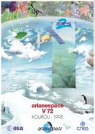 France Arianespace V 72 Affiche Neuve - Autres