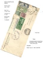 USA Airmails. 1930 (April 15) NYC - Colombia, Medellin. Via Colon, CZ (21 April) And Barranquilla (22 April) Air Multifk - Unclassified