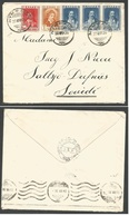 GREECE. 1930 (23 July) Ninfaion - Sweden, Saltsjo (30 July). Multifkd Envelope. Via Thessalonika (24 July). - Grèce