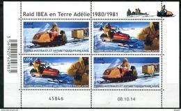TAAF, N° 737 à N° 738** Y Et T En Mini - Feuille - Französische Süd- Und Antarktisgebiete (TAAF)