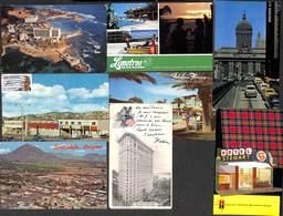 US USA Etats-Unis - Petit Gentle Lot Of 8 Postcards.... Petit Prix/ Attractive Price - Etats-Unis
