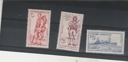 Saint Pierre Et Miquelon 1941 Yvert  Série 207 à 209 ** Neufs Sans Charnière - Défense De L'Empire - Neufs