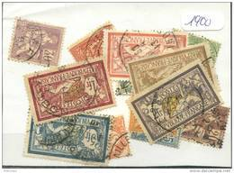 France  Années Completes (o) 1900 (17 Timbres) - ....-1939