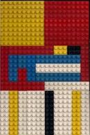 LEGO CLASSIC LOT DE 3 PLAQUETTES De 16 CM SUR 8 Et DIFFÉRENTES BRIQUES - Altre Collezioni