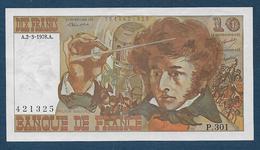 10 F  Berlioz  Du  2 - 3 - 1978 - 1962-1997 ''Francs''