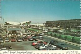 Aerodromo (Aeroporto) New York City, J.F. Kennedy Intern. Airport, Terminal T.W.A. & East Wing Intern. Arrival Building - Aerodromi