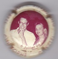 CAMUS-SATORE MARIAGE CHRISTOPHE 6 JUILLET 96 - Champagne