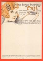 Parrucchieri Peigne Capelli 1920 1930 Coiffeur Hair Dresser Parrucchieri Peluquera Cheveux Vetrofania Pubblicità - Pubblicitari