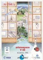 France Arianespace V 83 Affiche Neuve - Sciences & Technique