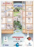 France Arianespace V 83 Affiche Neuve - Technical