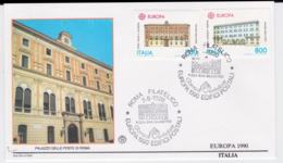 Italy 1990  FDC Europa CEPT (DD6-1) - Europa-CEPT