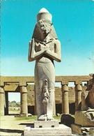 Luxor (Egitto, Egypt) Karnak, Pharao Pinutem And His Wife, Statues De Pinutem Et De Sa Femme - Luxor