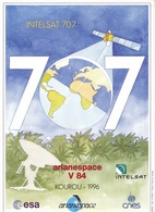 France Arianespace V 84 Affiche Neuve - Technical