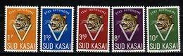 Sud Kasaï 1961 - 20/24** MNH - Sud-Kasaï
